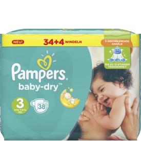 Pampers Baby Dry Grösse 3 5-9kg