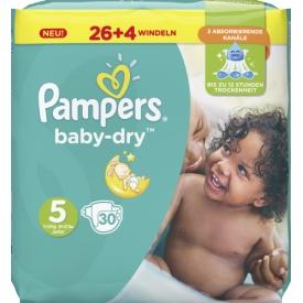 Pampers Baby Dry Größe 5 Junior 11-23 kg