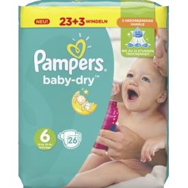 Pampers Baby Dry Größe 6 Extra Large 15+ kg