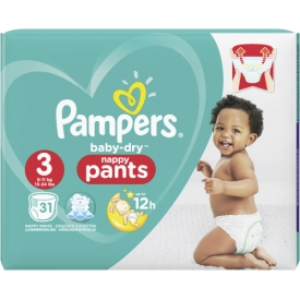 Pampers Pants Baby-Dry Größe 3 Midi 6-11kg