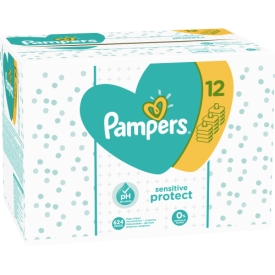 Pampers Feuchttücher sensitive GIGA-Vorteilspack 12x56  = 672st.