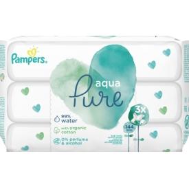 Pampers Feuchttücher Aqua Pure 3x48 stk