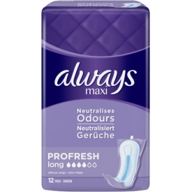 Always Damenbinde Maxi Pro Fresh Long