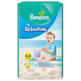 Pampers Pampers Splashers Schwimmwindeln GR.3-4 TP