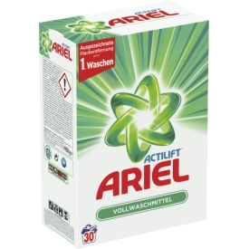 Ariel Pulverwaschmittel Regulär Strahlend Rein