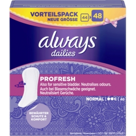 Always Slipeinlagen ProFresh Normal
