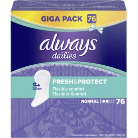 Always Slipeinlage Fresh&Protect  Normal
