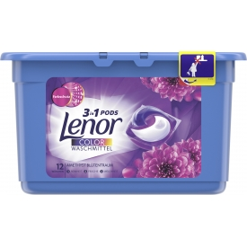 Lenor Colorwaschmittel 3in1 Pods Blütenbouquet