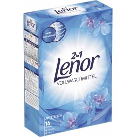 Lenor Vollwaschmittel Pulver Weiße Wasserlilie