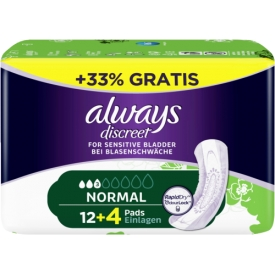 Always Inkontinenz Einlagen Discreet normal
