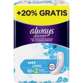 Always Inkontinenz Einlagen Discreet long
