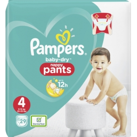 Pampers Pants Baby-Dry, Gr.  4 Maxi, 9-15 kg, Einzelpack