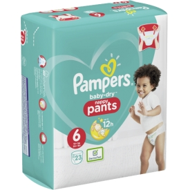 Pampers Pants Baby-Dry, Gr.  6 Extra Large 15+ kg, Einzelpack