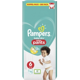 Pampers Pants Baby-Dry, Gr. 6, Extra Large, 15+ kg, Doppelpack