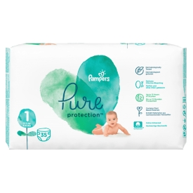 Pampers Pure Newborn Gr. 1 TP