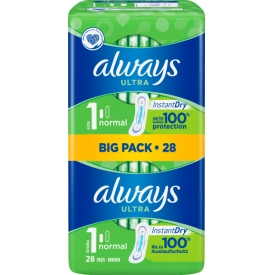 Always Ultra Binde normal Bigpack