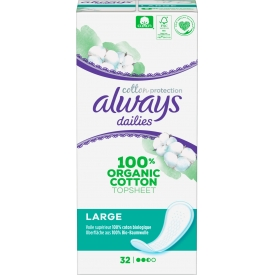 Always Slipeinlage Cotton Protection Large