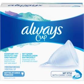Always Menstruationstasse Größe 1