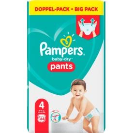 Pampers Pants Baby Dry, Größe 4 Maxi, 9-15kg, Doppelpack