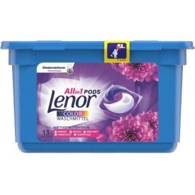 Lenor All in 1 Pods Colorwaschmittel Amethyst Blütentraum, 13 WL