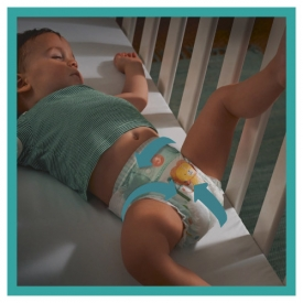 Pampers Winden Baby Dry, Größe 8 Extra Large, 17+kg, Einzelpack
