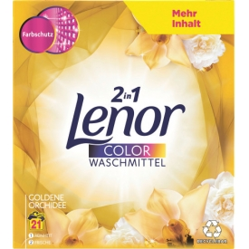Lenor Waschmittel Pulver Goldene Orchidee
