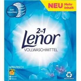 Lenor Waschmittel Pulver Aprilfrisch