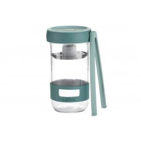 Lékué Kit Pickles 2 Gläser+Zange 700ml 2er Set