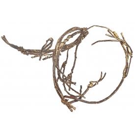 Holz-Spiralzweig Ideal zum Dekorieren von Windlichtern und Gefäßen 90cm braun