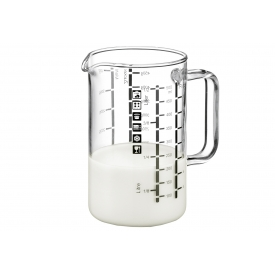 Bohemia Cristal Messbecher mit Henkel 1 l