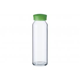 Simax Smoothie-Flasche 250ml mit Kunststoffdeckel in grün
