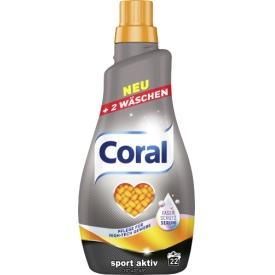 Coral Sport Aktiv Flüssigwaschmittel