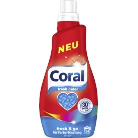Coral Waschmittel Flüssig Kurzwäsche fresh color