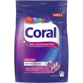 Coral Vollwaschmittel Color Pulver
