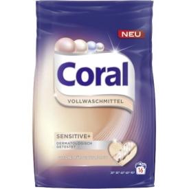 Coral Vollwaschmittel Pulver Sensitiv