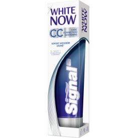 Signal Zahncreme White Now CC