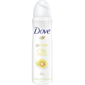 Dove Deo Spray go fresh grapefruit & lemongrass 0% Aluminiumsalze