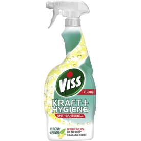 Viss Kraft & Hygiene Anti-Bakteriell Lemon & Grüntee