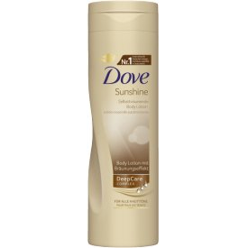 Dove Sunshine Selbstbräunende Body Lotion Medium