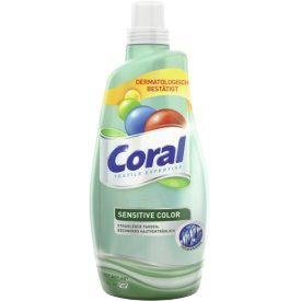 Coral  Flüssigwaschmittel Sensitive Color