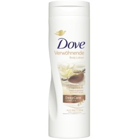 Dove Deep Care Verwöhnende Body Lotion mit Sheabutter & Vanilleduft