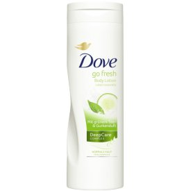 Dove Körperlotion Go Fresh Body Lotion Tee & Gurkenduft