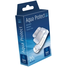 Sana First Aid Aqua Protect Pflaster wasserdicht