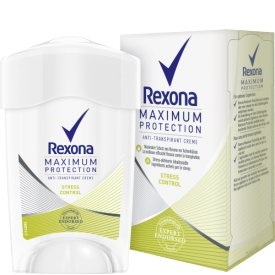 Rexona Deo Creme Antitranspirant Maximum Protection Stress Control