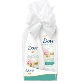 Dove Geschenkset Pure Verwöhnung Pflegedusche & Body Lotion