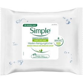 Simple Mizellen-Reinigungstücher