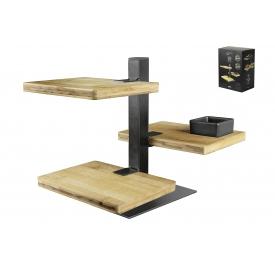 Gusta Etagere Holz-Metall 18x12,8x24,5cm