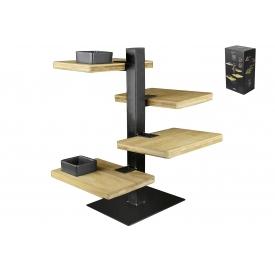 Gusta Etagere Holz-Metall 19,5x14,5x36cm