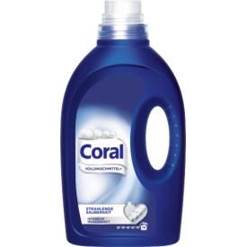 Coral Vollwaschmittel Flüssig Strahlende Sauberkeit