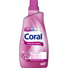 Coral Feinwaschmittel Wolle & Seide